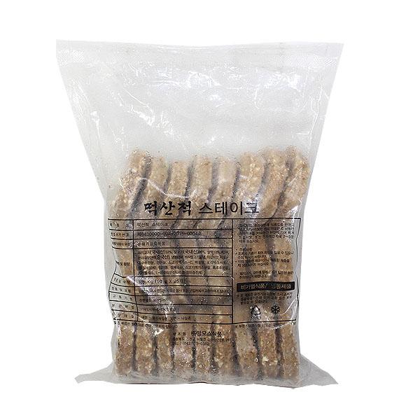 [현재분류명],180208DSPRO-4094 (냉동)떡산적 스테이크1.5kg(25p) 4개,스테이크,가공육,냉동식품,떡갈비,간식