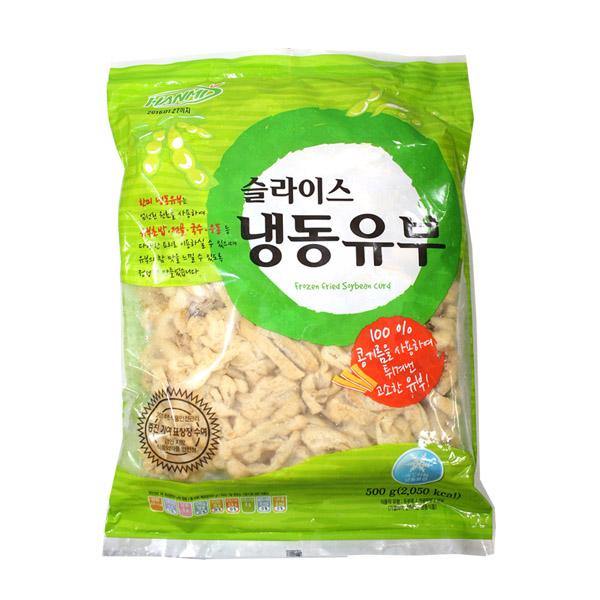 [현재분류명],180208DSPRO-4079 (냉동)한미 슬라이스유부500g,유부초밥,유부,가공식품,초밥,간편조리식